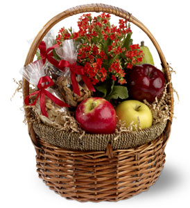 Health Nut Basket - Sweet Lilys Flowers